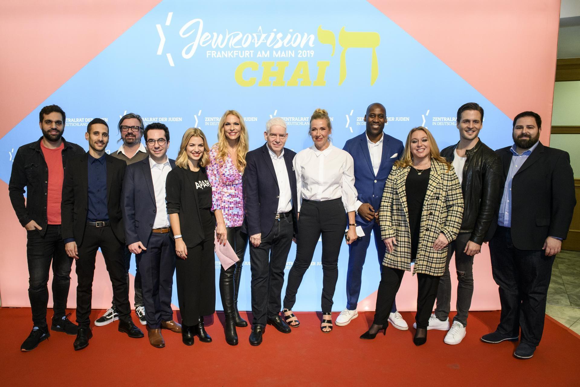 Jury, Jewrovision 2019 in der Festhalle Frankfurt am Main am 2.2.2019