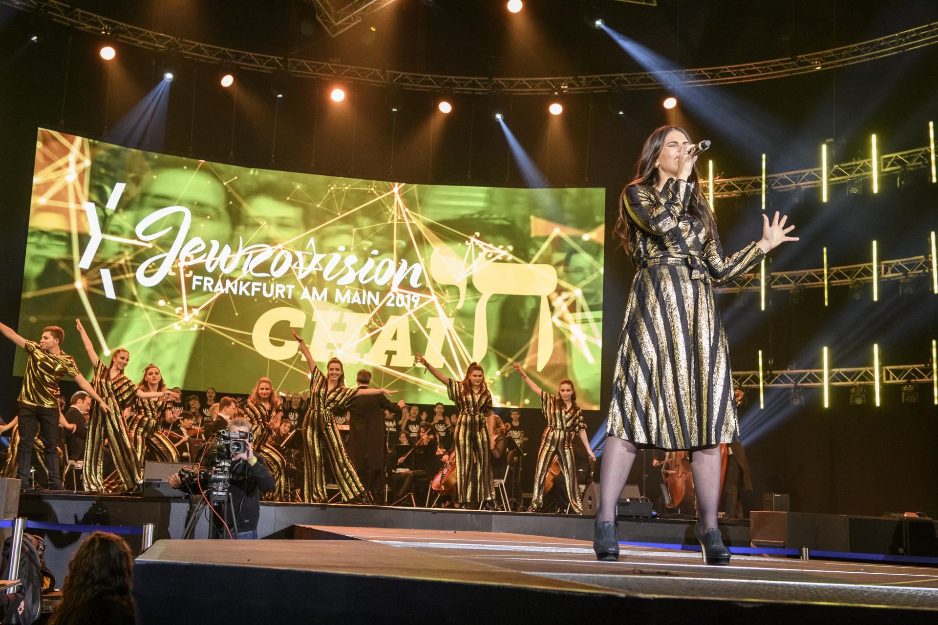 Eröffnungsakt, Jewrovision Song Contest 2019 in der Festhalle Frankfurt am Main am 2.2.2019